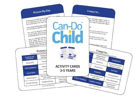 can do child activity cards